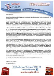 circular-bienvenida-sp-pre-primary-curso-16-17