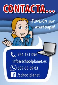 Contacta con School Planet
